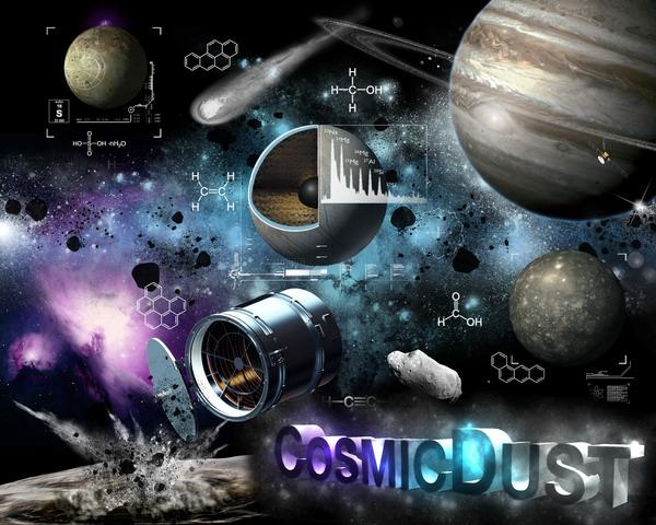Forschungsbereich Cosmic Dust (c) K. Fliege