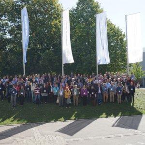Gruppenfoto Teilnehmerinnen und Teilnehmer der AG Tagung der Astronomischen Gesellschaft 2019