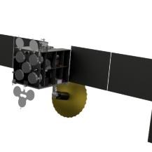 Die SPASS Sonde in Flugkonfiguration