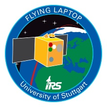 Flying Laptop Mission Patch Flying Laptop Mission Patch