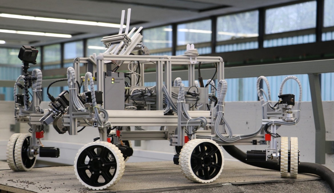 Modular Rover Chassis Platform (c)
