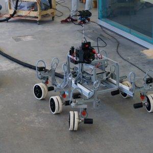 Rover und Kamerasystem STEVE, Team A