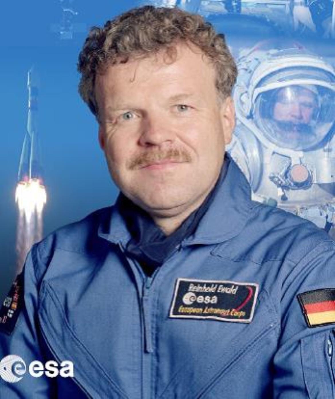 Abteilungsleiter Prof. Reinhold Ewald